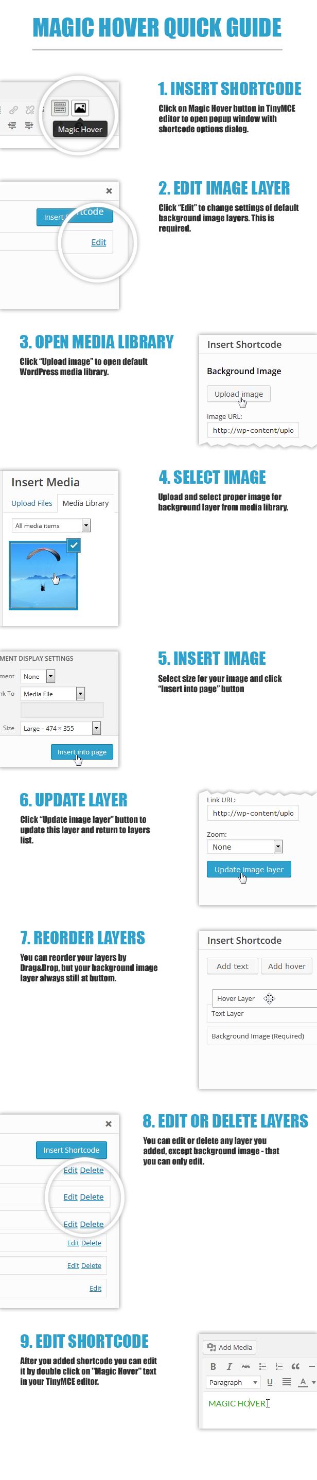 Magic Hover - WordPress plugin